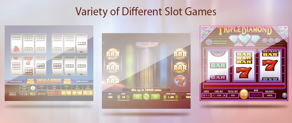 The Variety of Games Found at the UK's Best Slot Sites