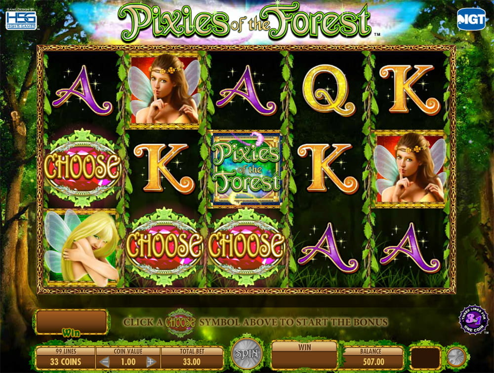 Pixies Of The Forest Free Slot