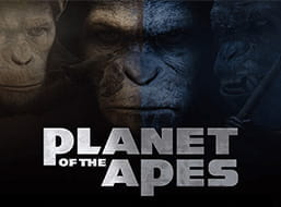 Image of the Planet of the Apes slot game.