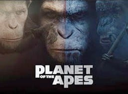 The Planet of the Apes slot from NetEnt