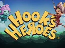 The slot Hooks' Heroes from NetEnt