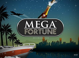 Image from the Mega Fortune Jackpot game.
