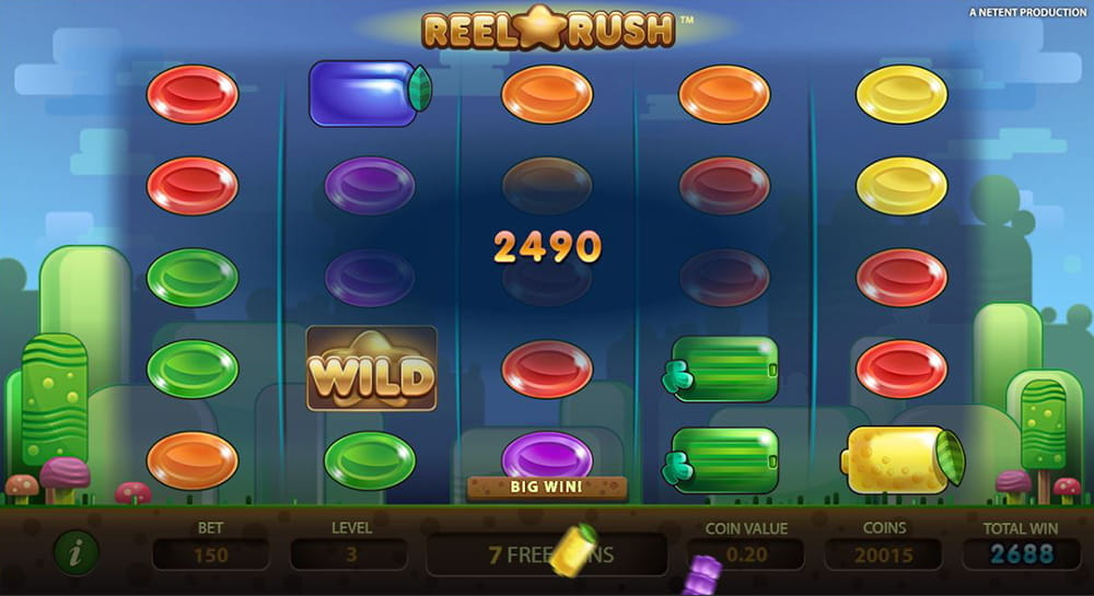 Reel Rush Complete Slot Review – All Details Listed