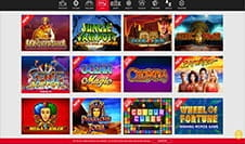 The home page of Genting Casino