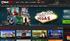 The Homepage of the NetBet Vegas Website