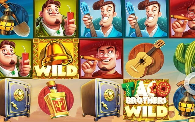 The Taco Brothers slot game.