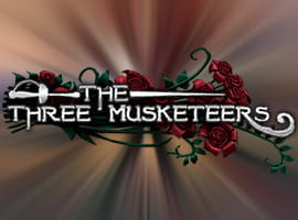 The Three Musketeers game logo.