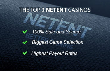 Key features of the top 3 casinos that provide NetEnt slots