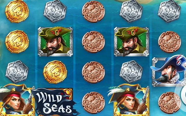 The Wild Seas slot game.