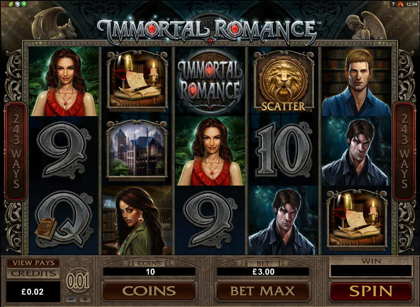 Immortal Romance Slot from Microgaming