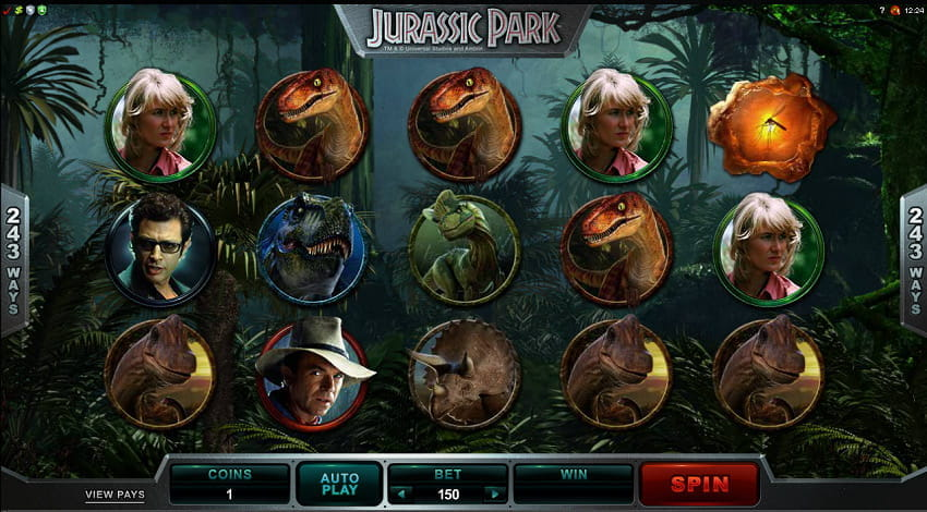 Jurassic Park Slot from Microgaming
