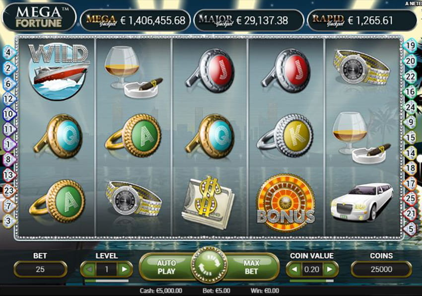 Mega Fortune Slot by Playtech