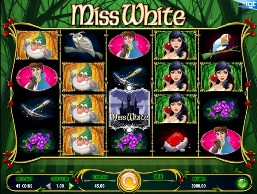 Miss White Slot from IGT
