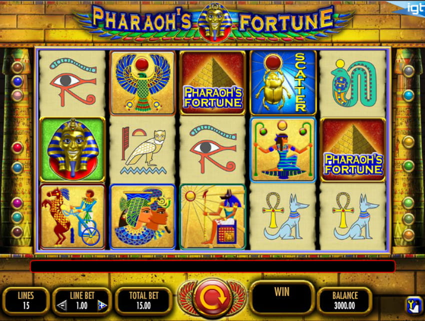 Pharaoh's Fortune Slot from IGT