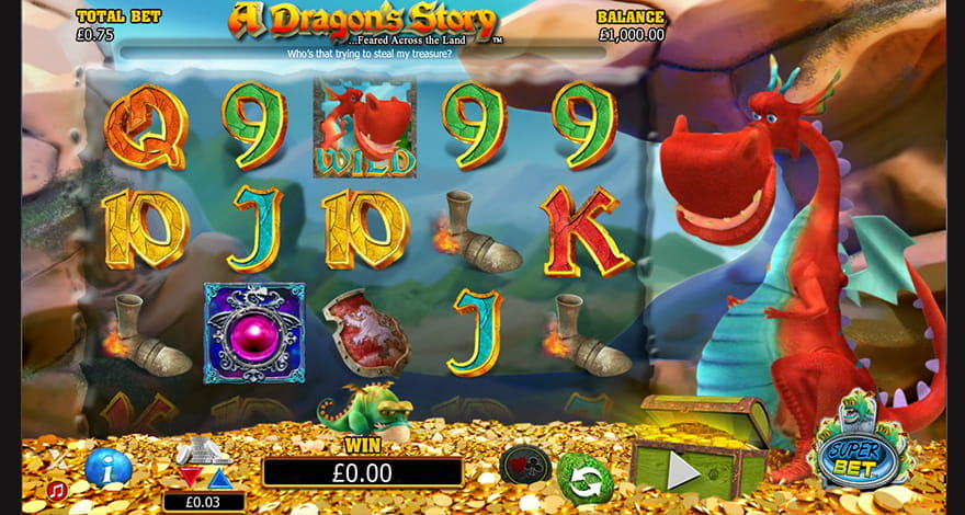 A Dragon's Story Video Slot