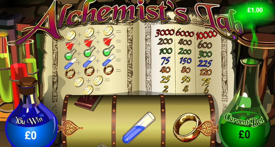 Alchemist's Lab Playtech Slot