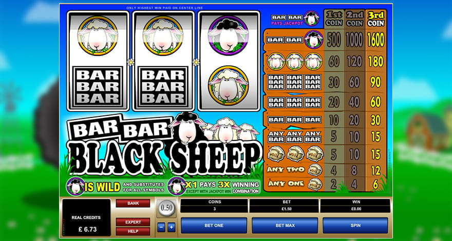 Bar Bar Black Sheep Online Slot
