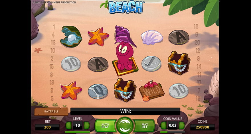 Beach Slot from NetEnt