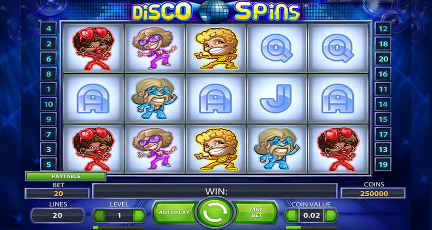 Disco Spins Online Slot