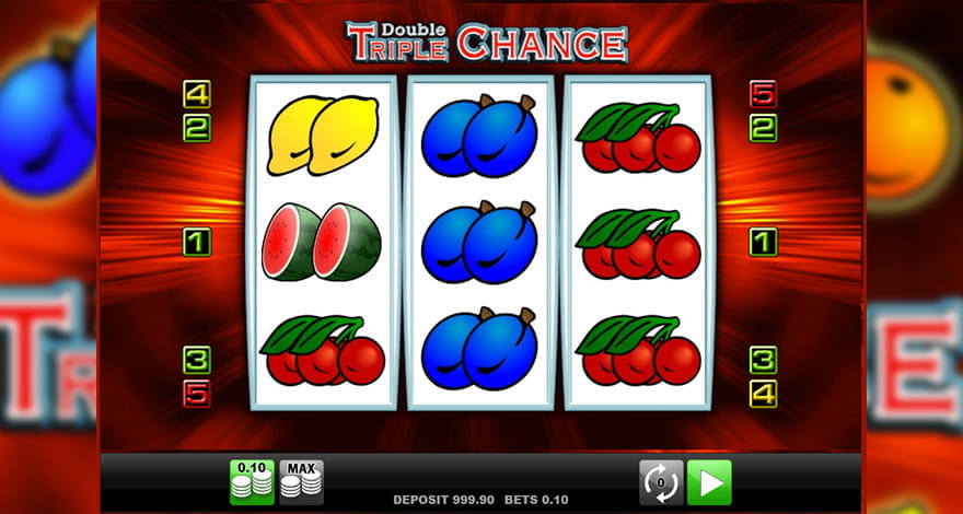 Double Triple Chance Classic Slot