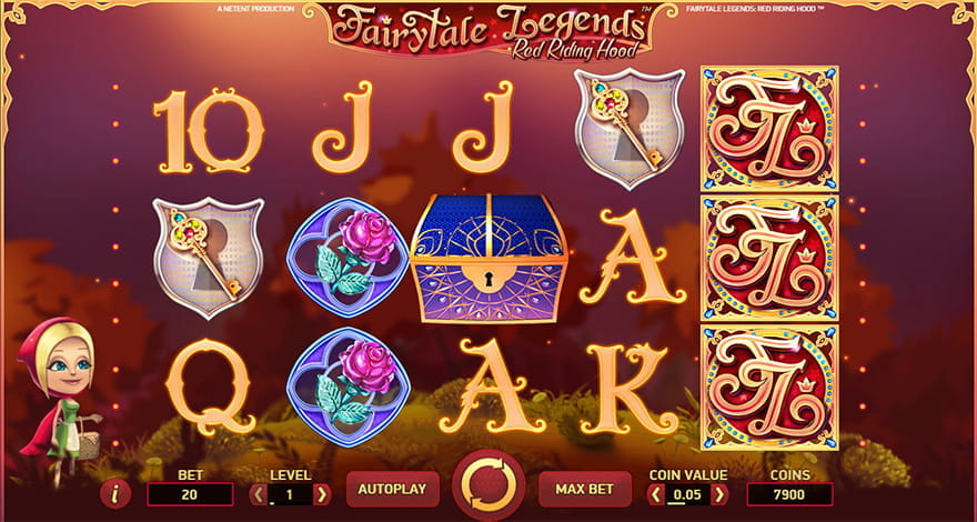 Fairytale Legends: Red Riding Hood Online Slot