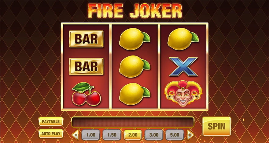 Fire Joker 3-Reel Slot