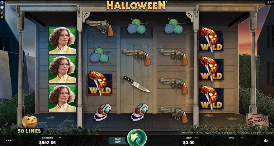 Halloween Online Slot from Microgaming
