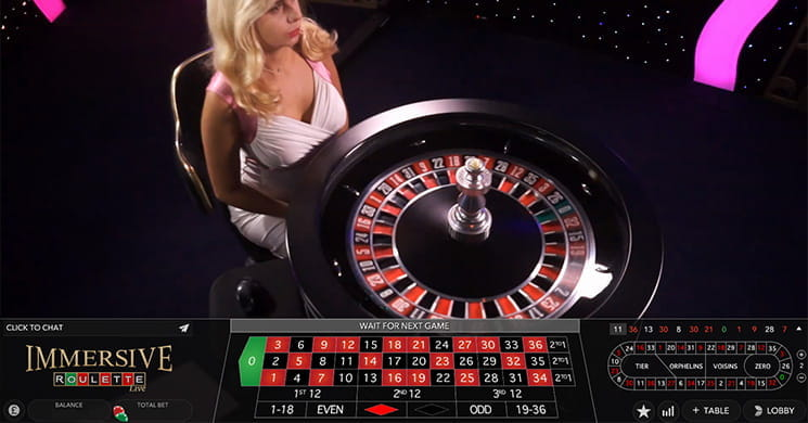 Immersive Roulette from Evolution Gaming