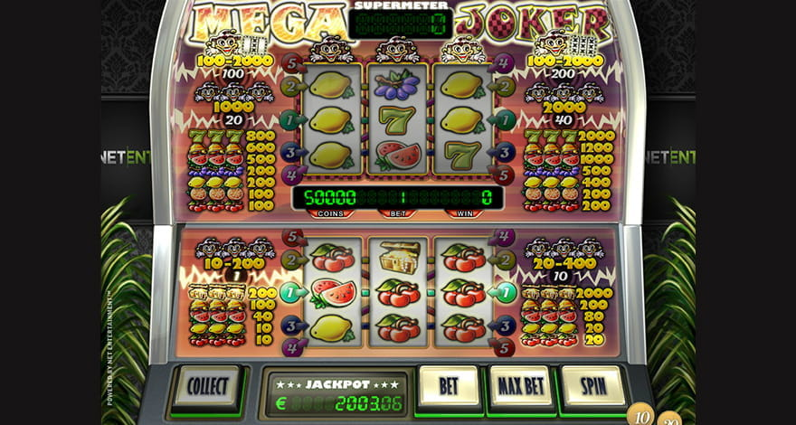 Mega Joker Slot has a High RTP