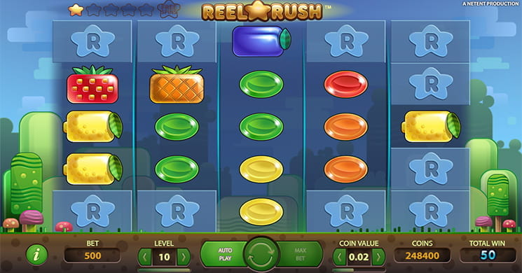 Reel Rush is an Innovative Video Slot