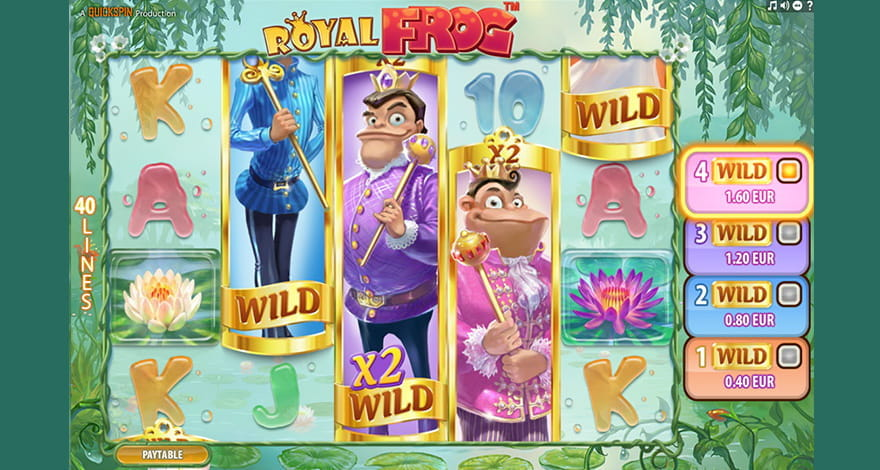 Royal Frog Online Slot