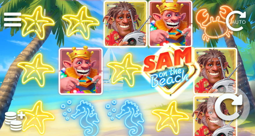 Sam on the Beach – The Slot Machine