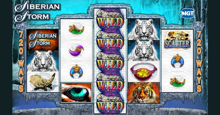 Siberian Storm is an Unconventional Slot