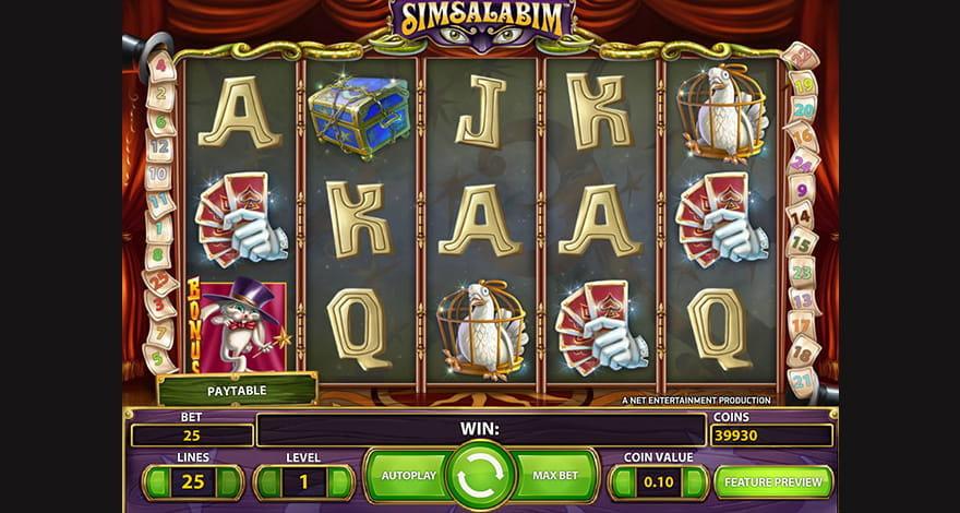Simsalabim Online Slolt