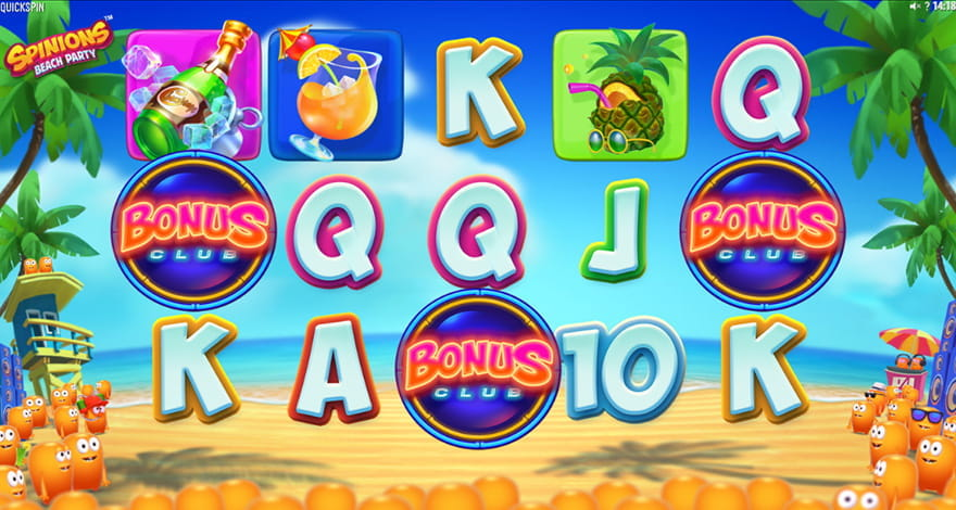 Spinions Beach Party Slot