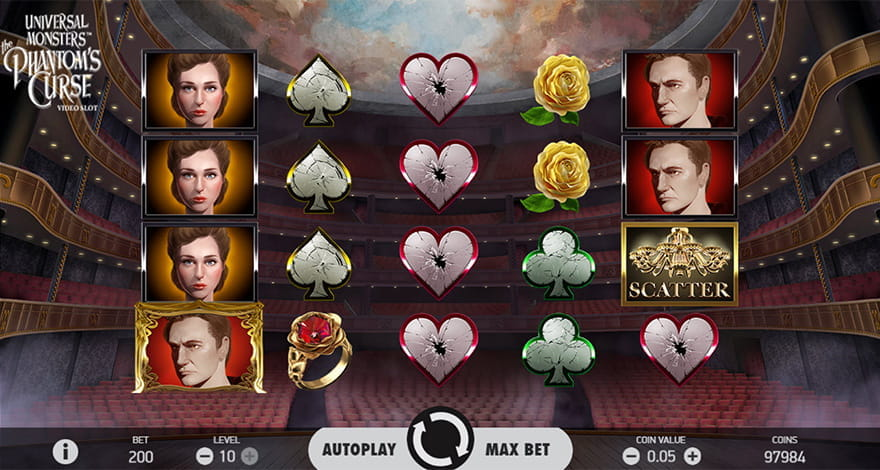 The Phantom's Curse Online Slot