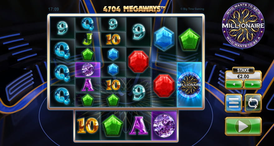 Who Wants to Be a Millionaire Slot Gameplay