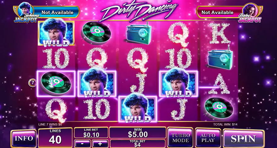 Dirty Dancing Slot by Playtech
