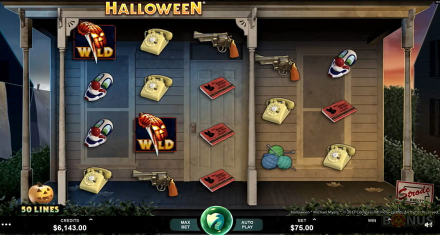 Halloween Slot by Microgaming