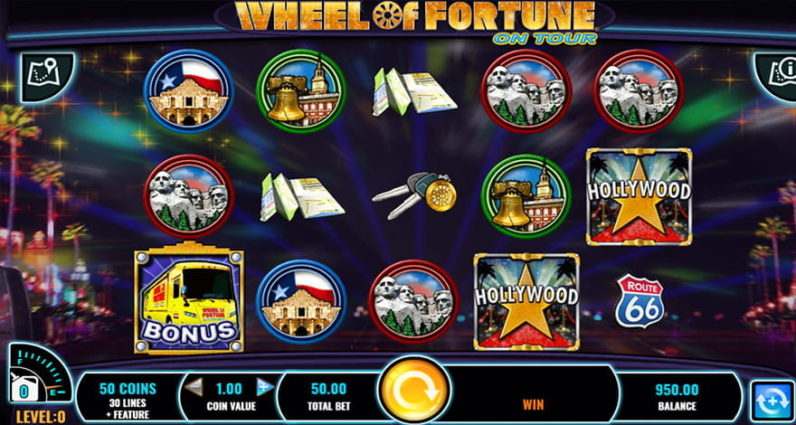 Wheel of Fortune On Tour Gameplay