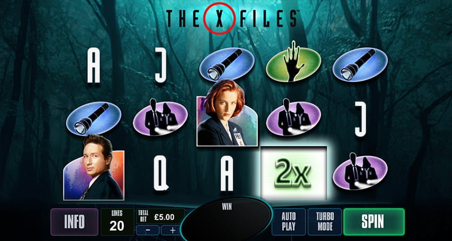 The X-Files Slot Gameplay