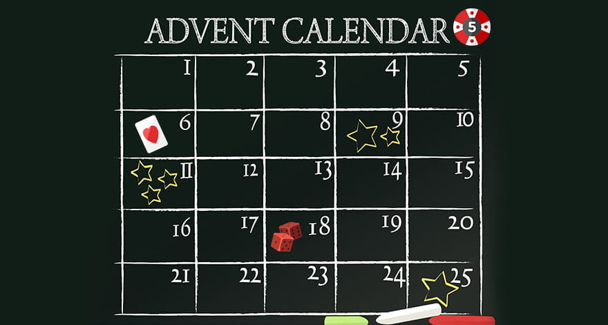 Casino Advent Calendar