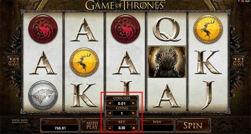 Many Bets with Low Stakes for Game of Thrones Betting