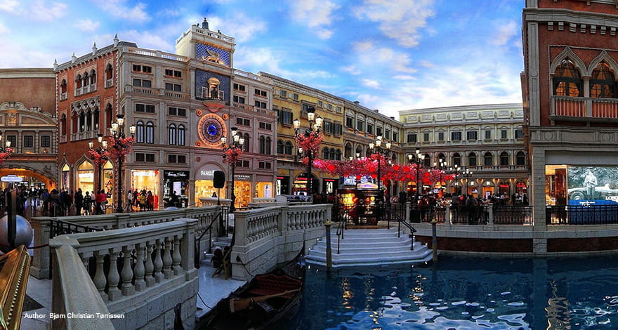 One of TripAdvisor's Highest Rated Gambling Destinations: the Venetian Macau Casino