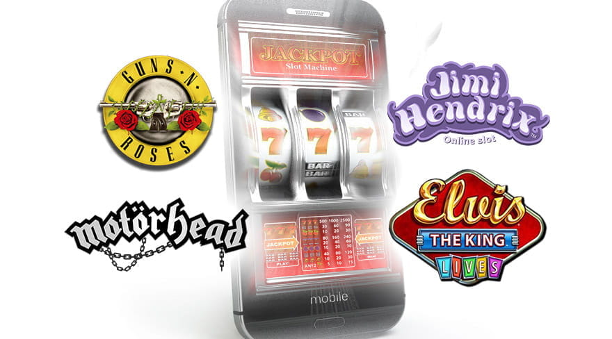 Listen to Your Favourite Band While Playing Music-Themed Slots