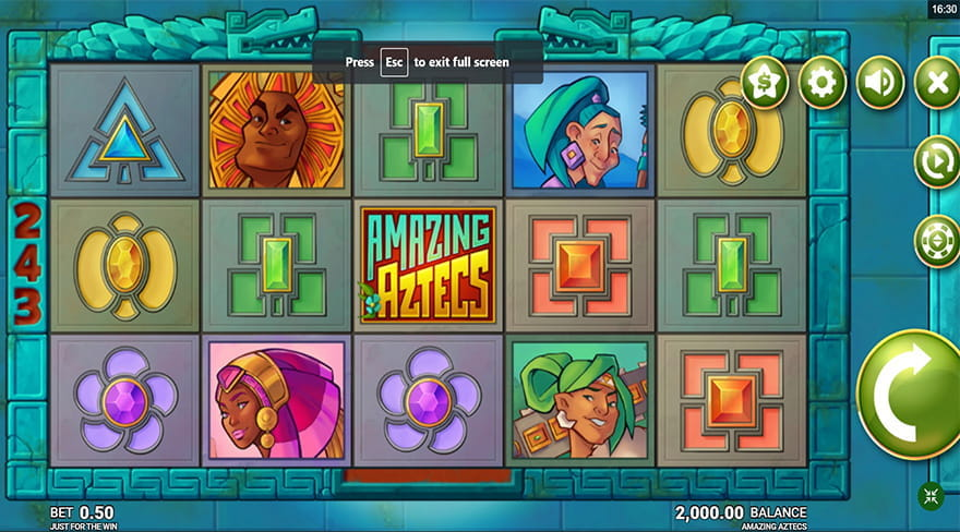 Amazing Aztecs Slot Game