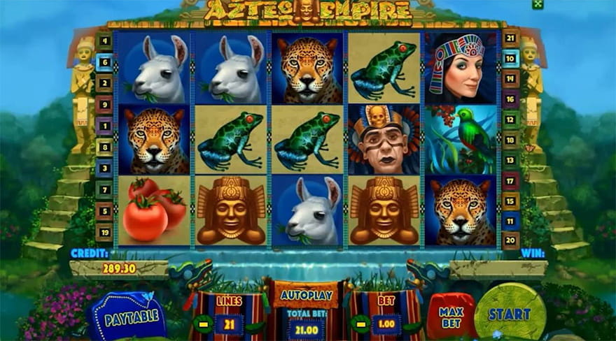 One igre aztec empire playson casino slots bonus cheats