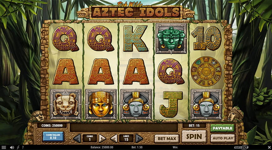 Aztec Idols Slot Game