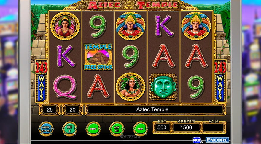 Aztec Temple Slot Game