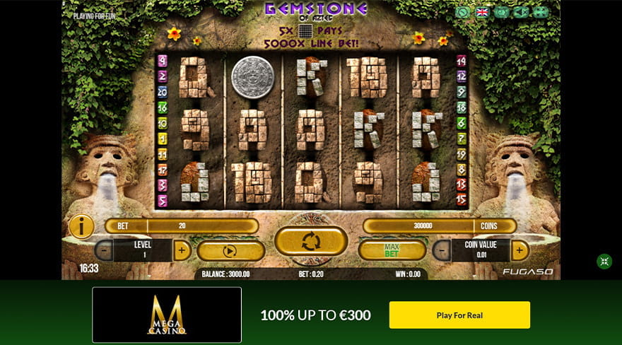 Gemstone of Aztec Slot Game